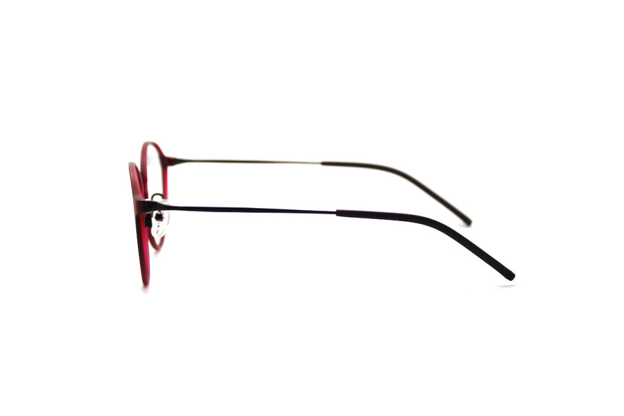 ALEXANDER metal glasses frames by Mr Foureyes, side shot
