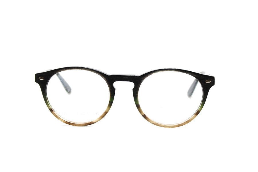 Blake glasses frames by Mr Foureyes, acetate frames in green forest tones