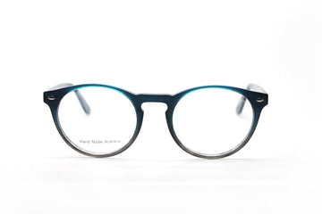 Blake glasses frames by Mr Foureyes, acetate frames in blue and ocean tones