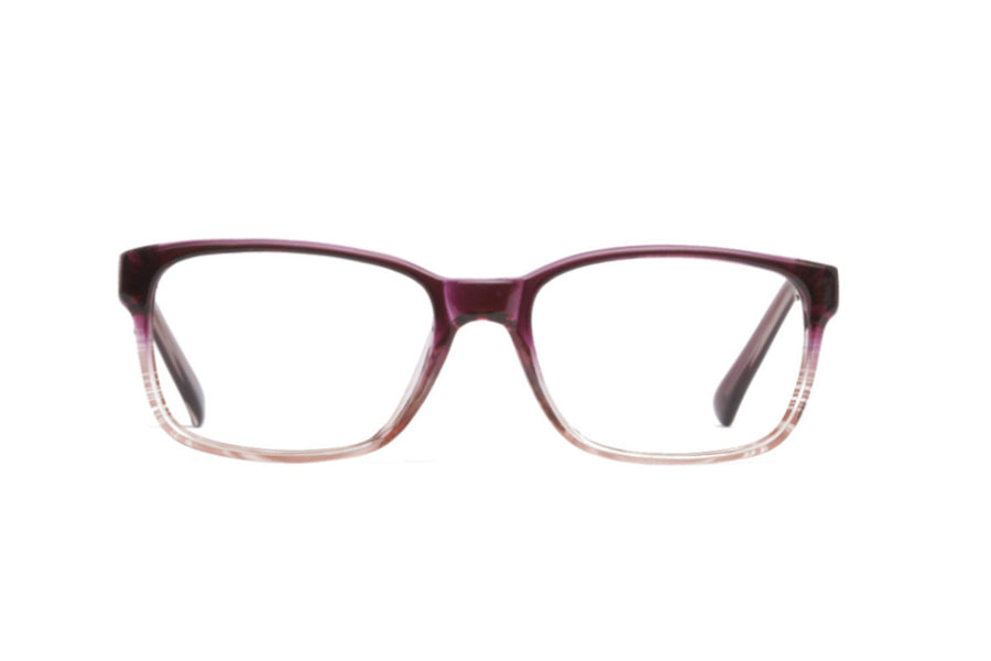 Cody glasses frames in maroon ombre | Mr Foureyes prescription glasses online