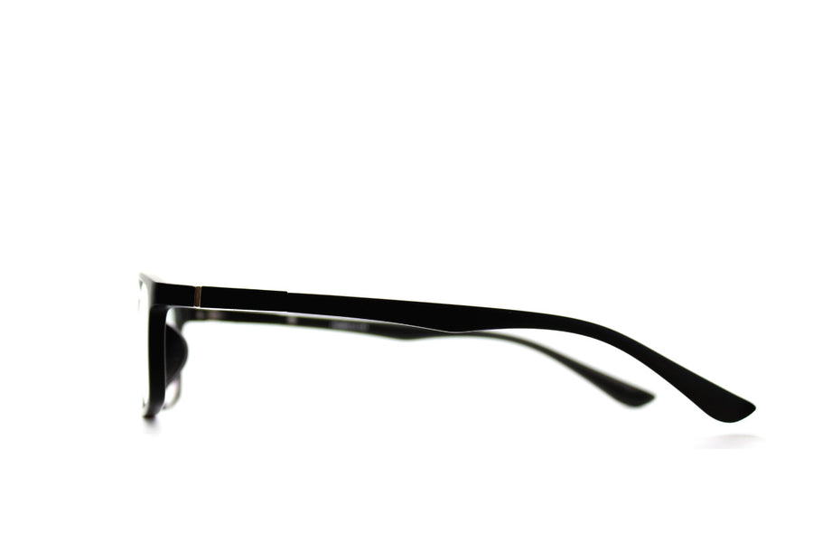 Charlie tortoiseshell acetate glasses frames by Mr Foureyes, side shot