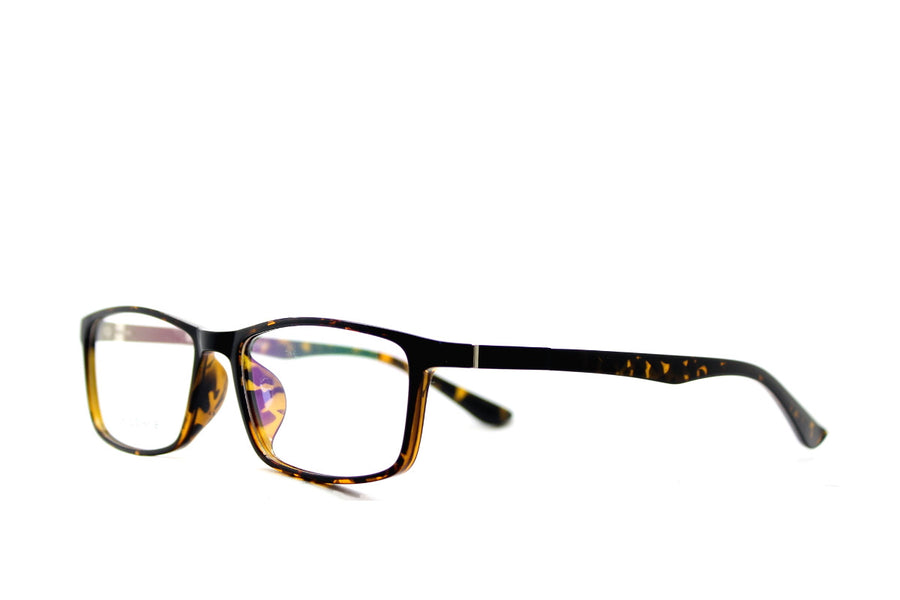 Charlie tortoiseshell acetate glasses frames by Mr Foureyes, angle shot