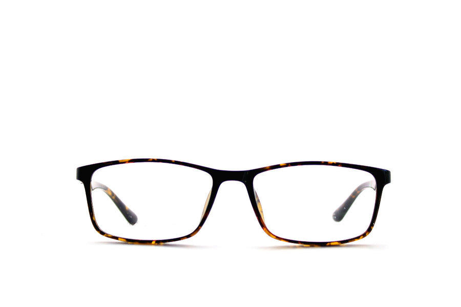 Charlie tortoiseshell acetate glasses frames by Mr Foureyes, front shot