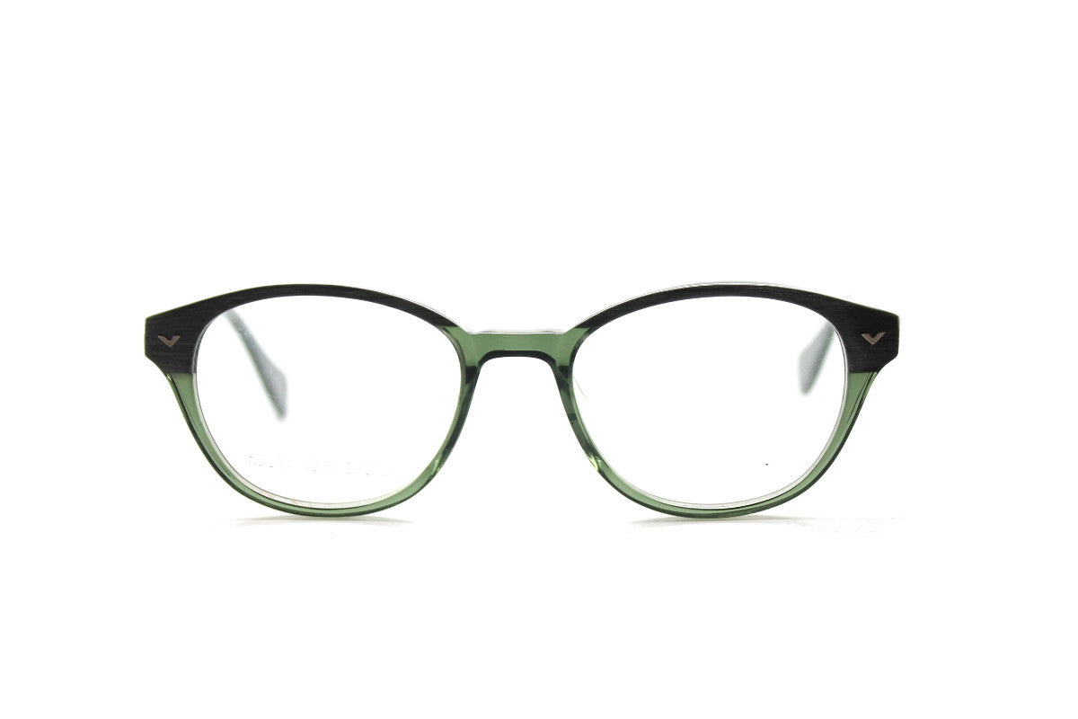 21b0a7f6177 Beautiful acetate glasses frames by Mr Foureyes in green tones (Corey style)