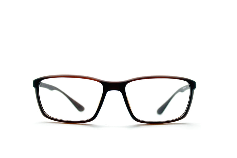 7192d4aea0e Acetate glasses frames in toffee colour by Mr Foureyes (Drew style)