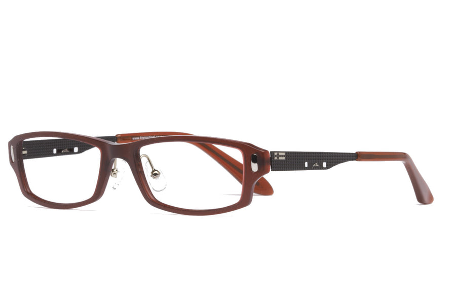 Nat glasses frames in crimson | Mr Foureyes prescription glasses online