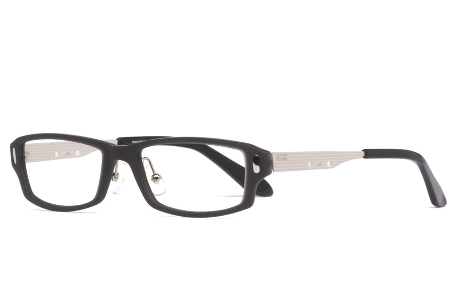 Nat glasses frames in matt black/taupe | Mr Foureyes prescription glasses online