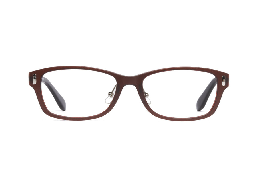 Xavier glasses frames in crimson | Mr Foureyes prescription glasses online