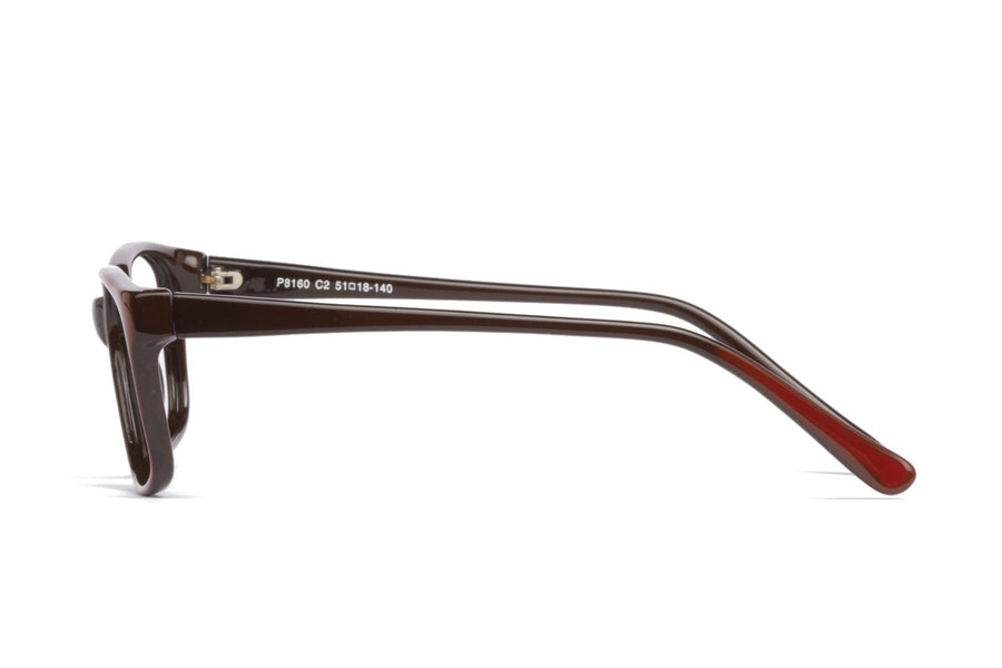 Cody glasses frames in maroon | Mr Foureyes prescription glasses online