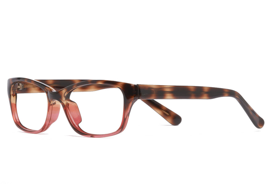 Saul glasses frames in red/tort | Mr Foureyes prescription glasses online