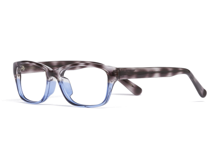Saul glasses frames in blue/grey tort | Mr Foureyes prescription glasses online