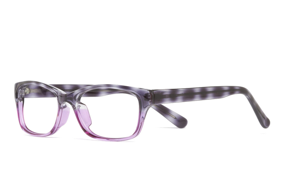 Saul glasses frames in purple/grey tort | Mr Foureyes prescription glasses online