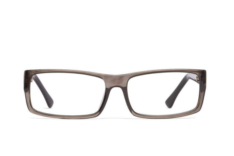 Cullen glasses frames in dark grey | Mr Foureyes prescription glasses online