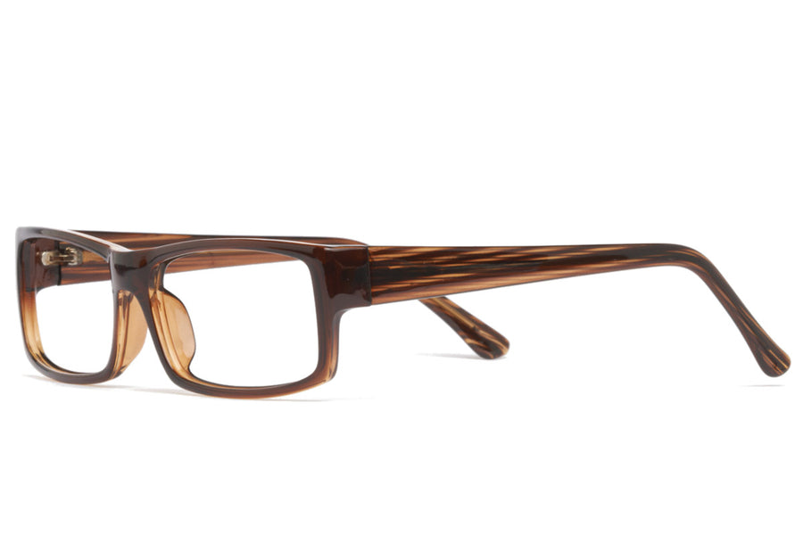 Cullen glasses frames in brown | Mr Foureyes prescription glasses online