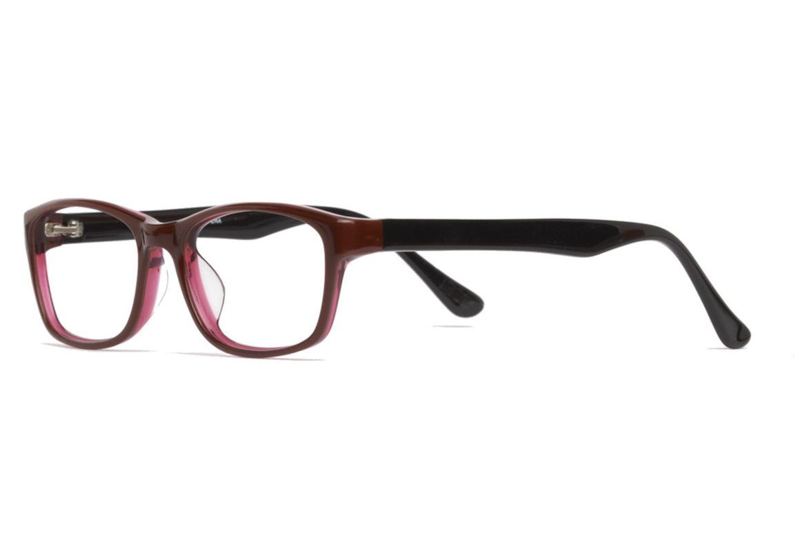 Abe glasses frames in red/black | Mr Foureyes prescription glasses online