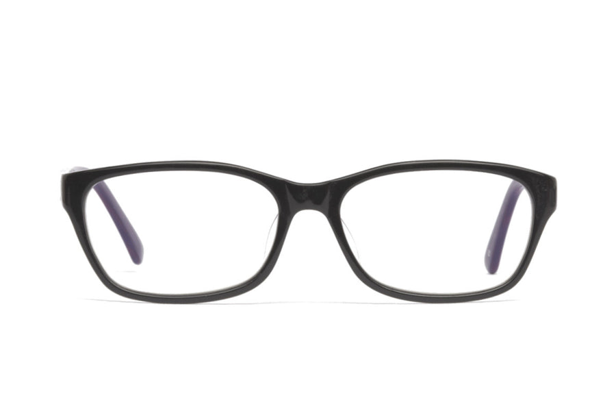 Abe glasses frames in purple/black | Mr Foureyes prescription glasses online