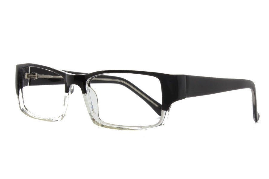Oz glasses frames in black/clear | Mr Foureyes prescription glasses online