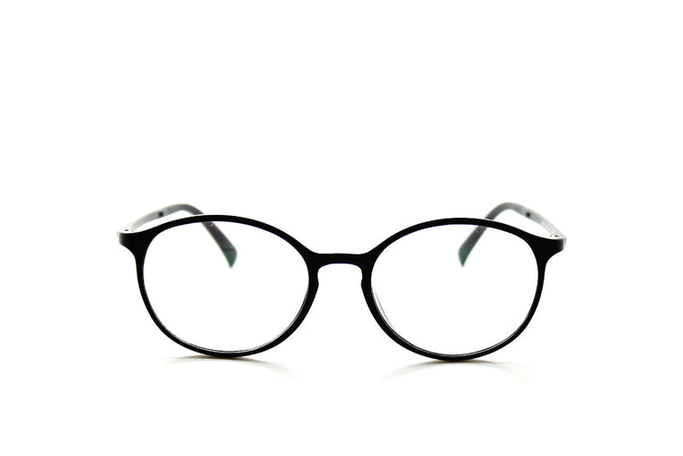 fb6cb5d8d70a Round acetate frames with keyhole detail by Mr Foureyes (Oliver style