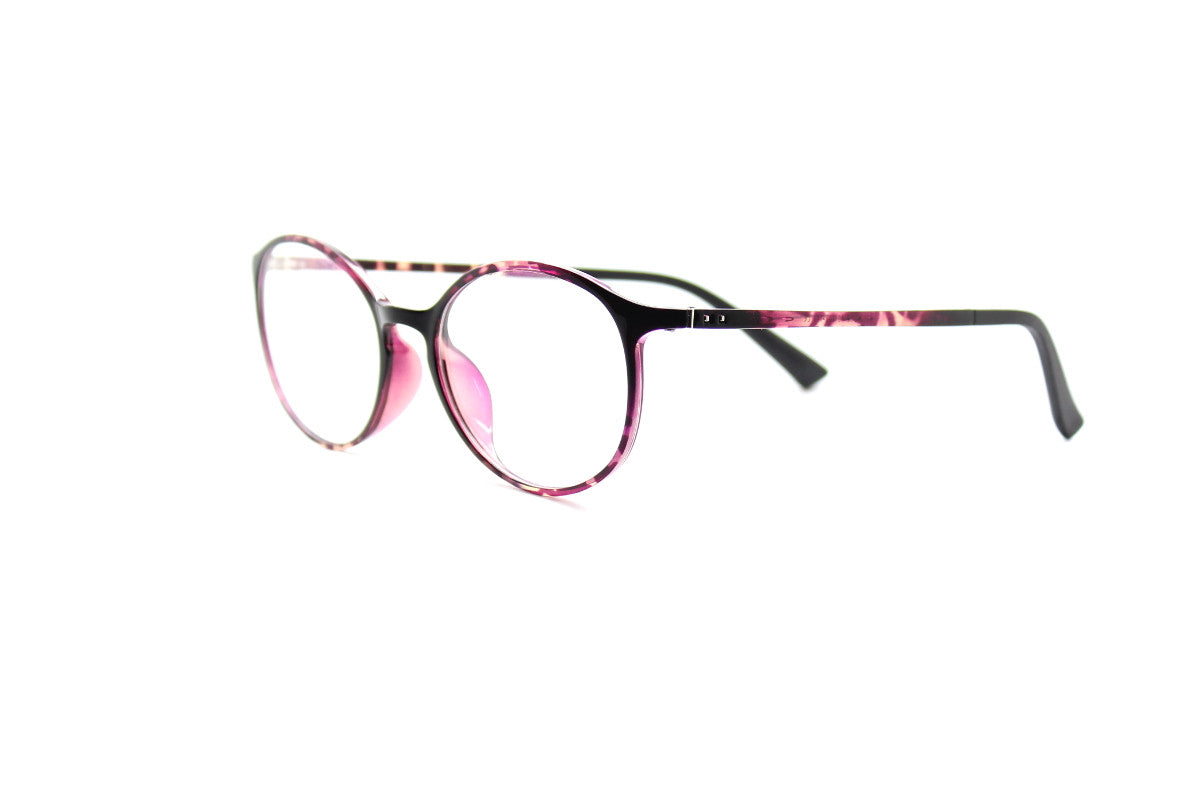 348ea1235357 ... Round acetate frames with keyhole detail by Mr Foureyes (Oliver style