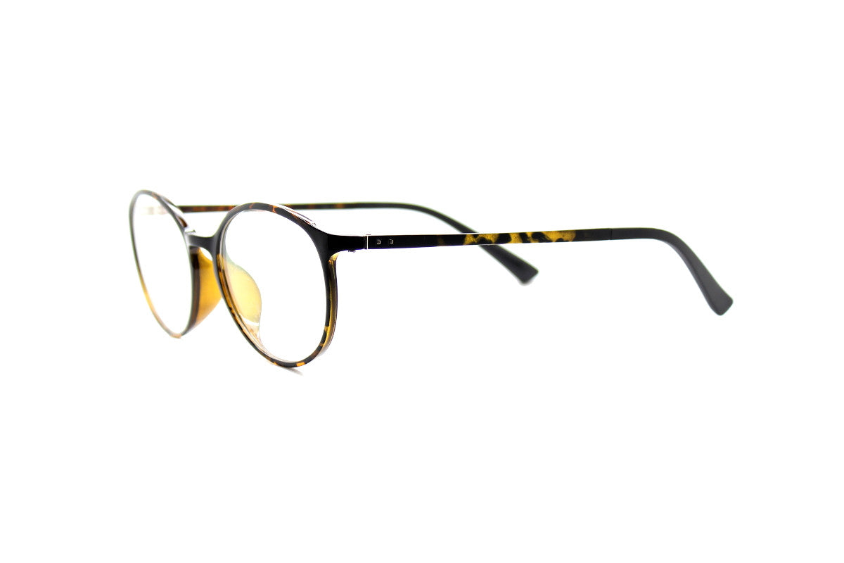 f9e752b7d1a3 ... Round acetate frames with keyhole detail by Mr Foureyes (Oliver style