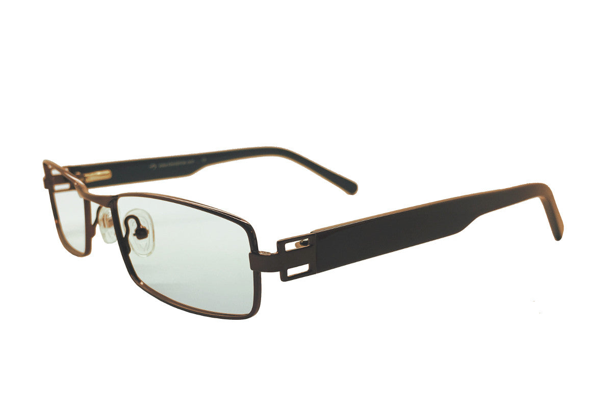 fe51bf364fb1 ... Metal children s glasses frames by Mr Foureyes (Stanley style in brown