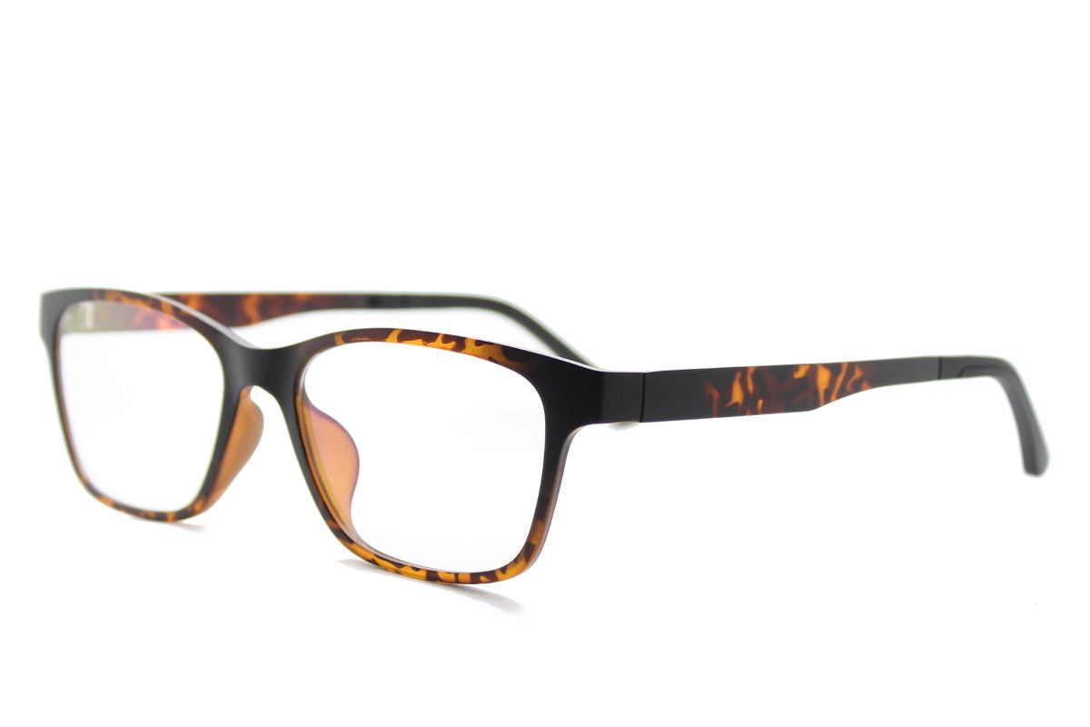 6e35eee38b4 ... Taylor clip-on prescription sunglasses by Mr Foureyes angle shot  optical glasses in tortoiseshell ...