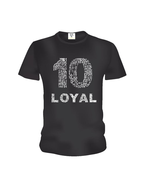 THE DEMAR DEROZAN ' LOYAL T ' Classic - Black -