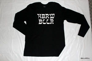 HBRW BLLR Long Sleeve - Black