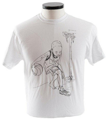 """Tzedek"" Sole4Souls Signature Charity Shirt - White"