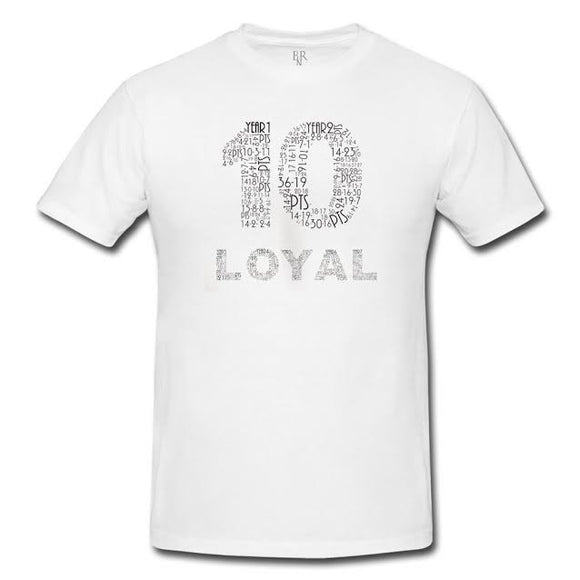 The DeMar DeRozan ' Loyal T ' Classic - White -
