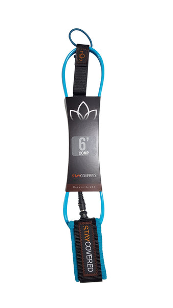 6' Comp Surf Leash