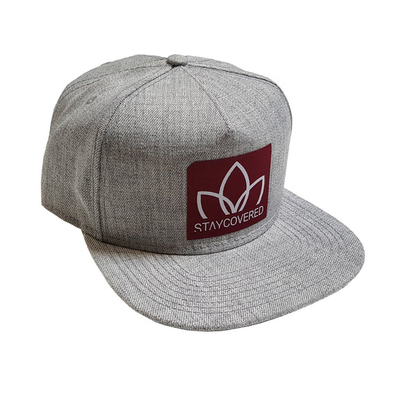 Wool Heather Grey Snapback
