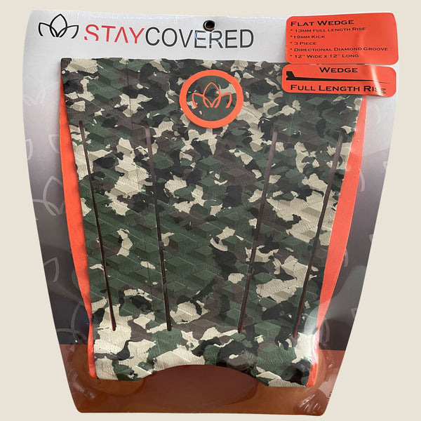 Flat Wedge 3 Piece Traction Pad Camo