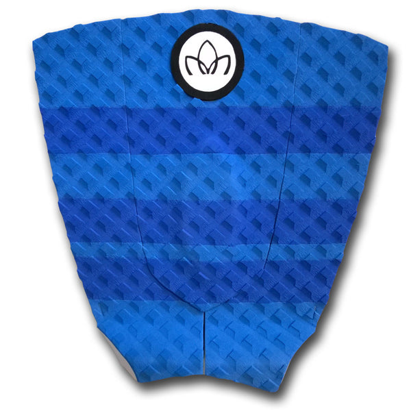 Short Board 3 piece Traction Pad Blue