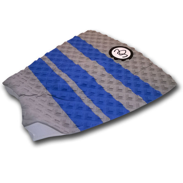 Short Board 3 piece Traction Pad Grey