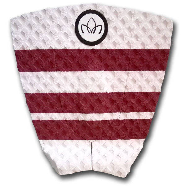 Short Board 3 piece Traction Pad White
