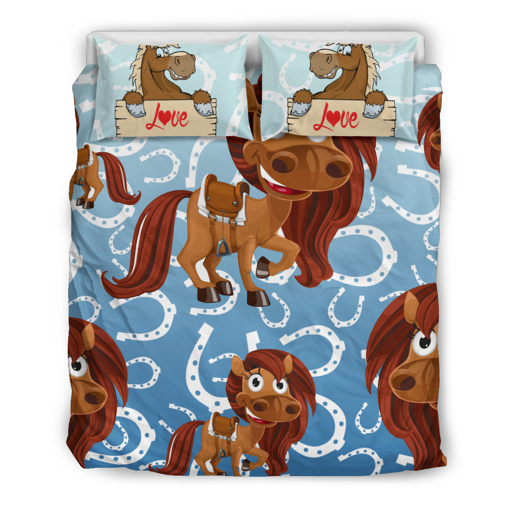 Horse Love Bedding Set