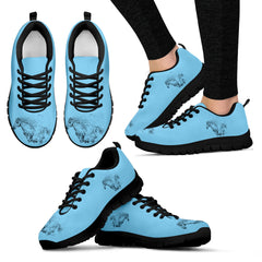 Blue-Horse Women's Sneakers