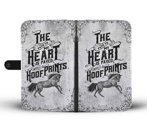 Hoof Prints Wallet Phone Case