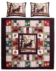 Whitetail Lodge 3pc Set