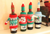 Image of Knitted Christmas 4pc Bottle Set