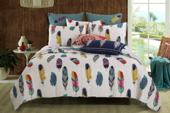 Elegant Dream Catcher 3pc Bedding Set