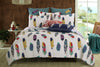 Image of Elegant Dream Catcher 5pc Bedding Set