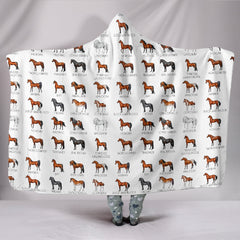 Breeds Hooded Blanket