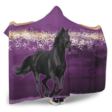 Horse Night Hooded Blanket