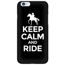 Phone Cases - Keep Calm And Ride Iphone Cover - FREE Shipping!