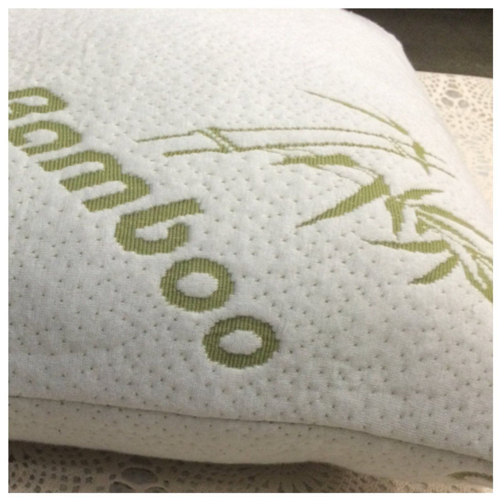 buy shredded foam bamboo pillow telegraph memory no bedding in from