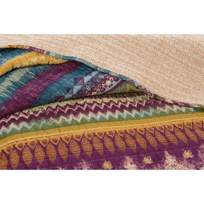 Quilt - 100% Cotton South Western 3Pc Quilt Set
