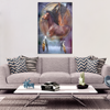 Image of Horse Dream Catcher Canvas Wall Art - Framed and Ready To Hang