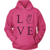 Image of Do You Love Horses? This hoodie Is for you!